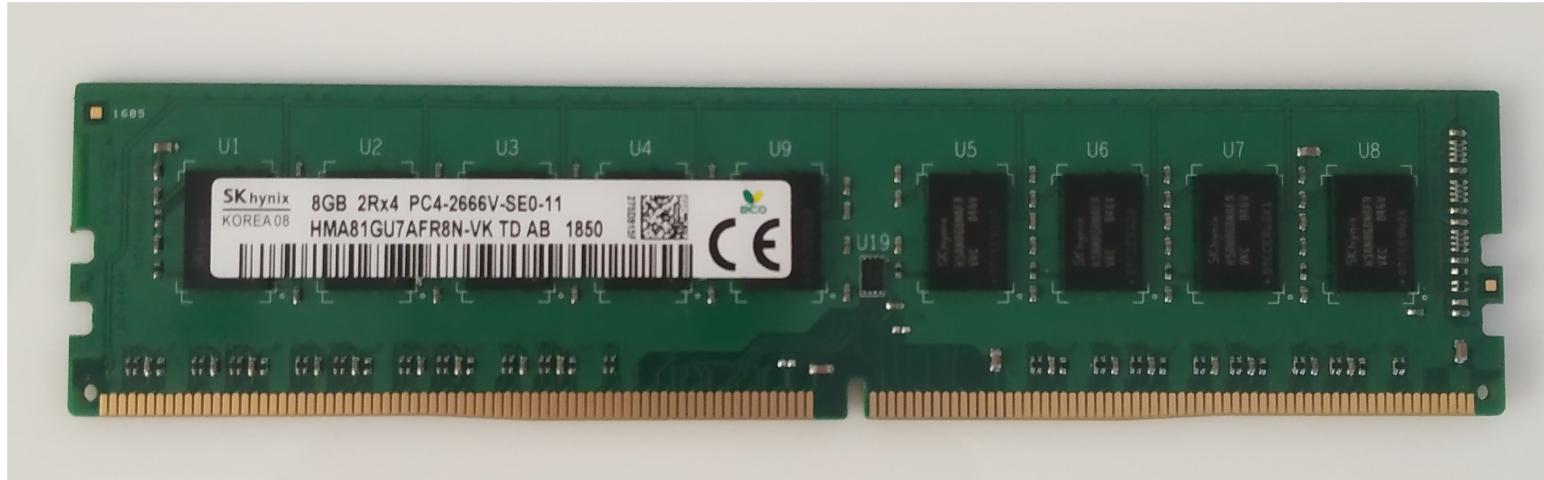 www.serverpartsindia.com 8GB PC-4 2666 ECC Unbuffered RAM