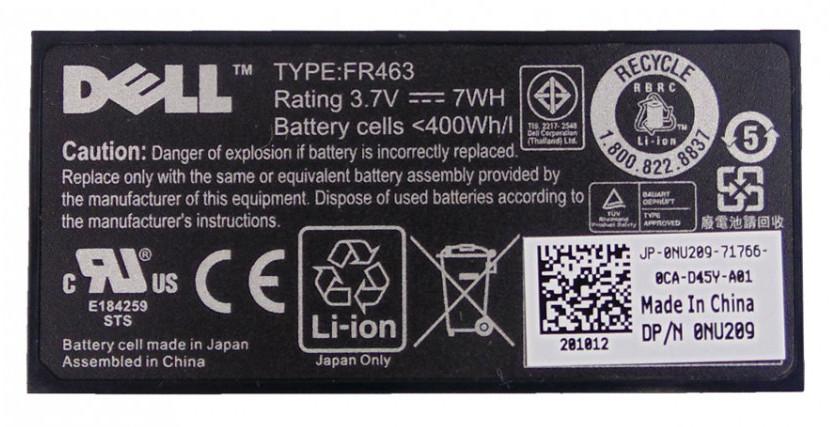 ServerPartsIndia Dell NU209 RAID Battery