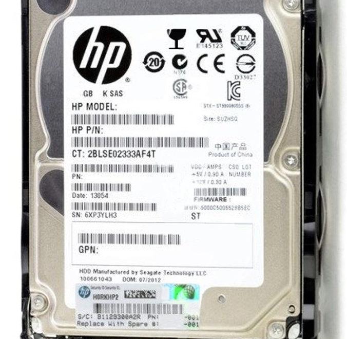 Server Parts HP 2TB 12G SFF SAS HDD 765452-002